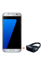 Samsung Galaxy S7 Edge Dual with Gear VR 2, 32gb,  silver